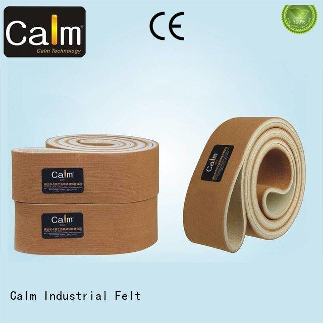 Custom tempseamless felt belt 280°c industrial conveyor manufacturers