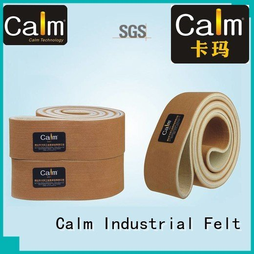 Calm Industrial Felt Brand conveyor felt 280°c felt belt