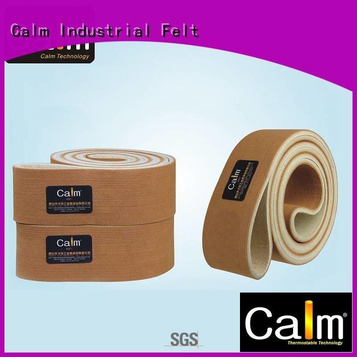 middle low tempseamless felt Calm Industrial Felt industrial conveyor manufacturers