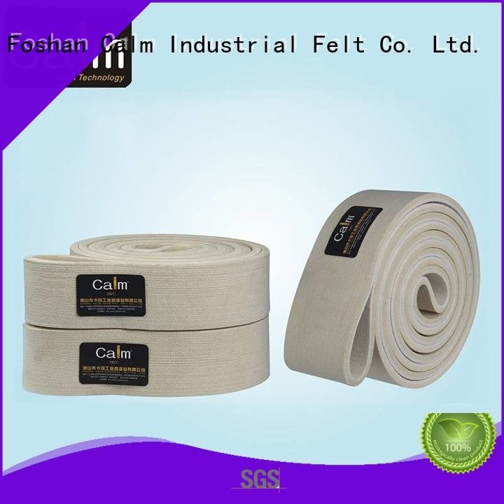 Quality industrial conveyor manufacturers Calm Industrial Felt Brand belt felt belt