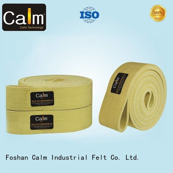 Calm Industrial Felt Brand felt ring 480°c felt belt low