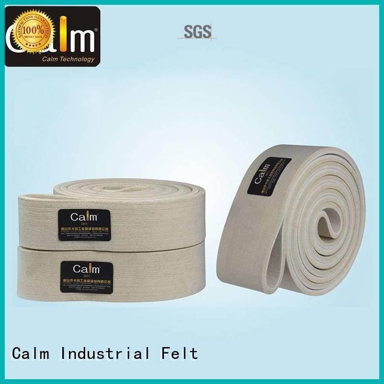 Calm Industrial Felt 280°c felt belt low tempseamless