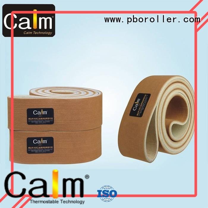 Calm Industrial Felt Brand conveyor 600°c industrial conveyor manufacturers temperature