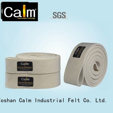 industrial conveyor manufacturers ultrahigh Calm Industrial Felt Brand felt belt