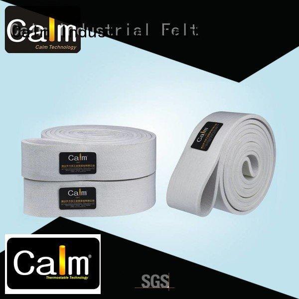 Calm Industrial Felt temperature conveyor felt belt seamless middle