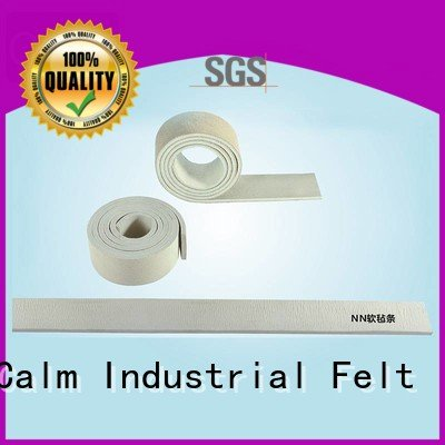 thin felt strips 280° strip rack Calm Industrial Felt