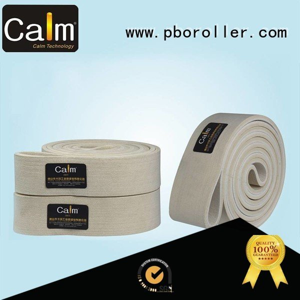 Calm Industrial Felt Brand belt temperature seamless felt belt conveyor