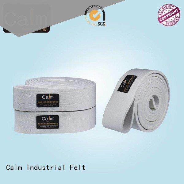 Calm Industrial Felt Brand felt industrial conveyor manufacturers seamless belt