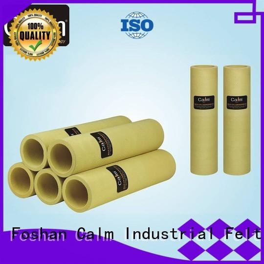 180°c 480°c high black felt roll Calm Industrial Felt manufacture