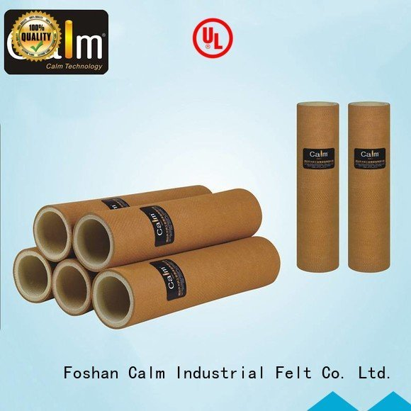 Calm Industrial Felt 280°c 180°c tempresistance black felt roll 480°c