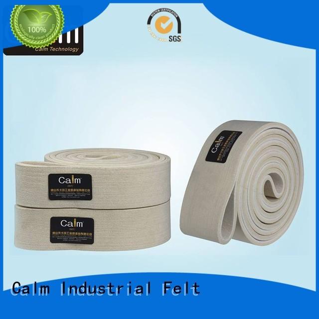 industrial conveyor manufacturers temperature seamless felt belt manufacture