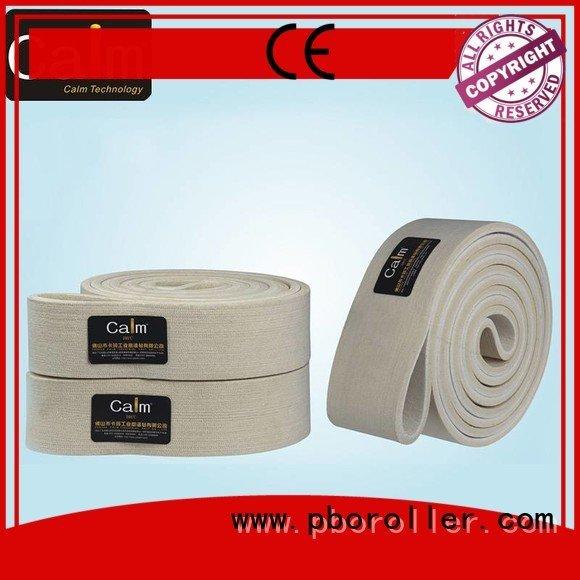 industrial conveyor manufacturers 480°c ring felt belt