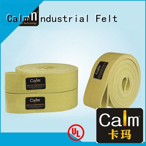 low 600°c felt belt conveyor Calm Industrial Felt