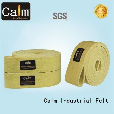 Calm Industrial Felt Brand felt seamless felt belt 600°c conveyor