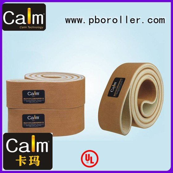 Hot industrial conveyor manufacturers ring felt belt conveyor Calm Industrial Felt