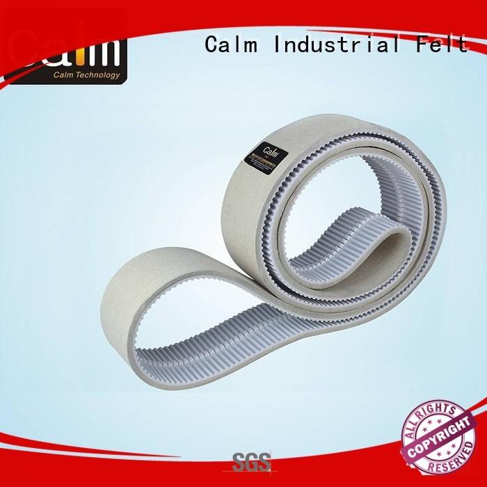 Custom belt timing felt strips Calm Industrial Felt timing