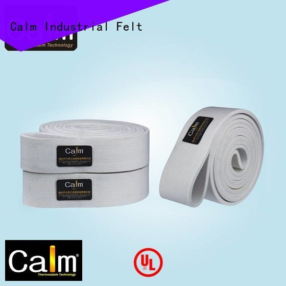 industrial conveyor manufacturers middle tempseamless felt belt Calm Industrial Felt Brand