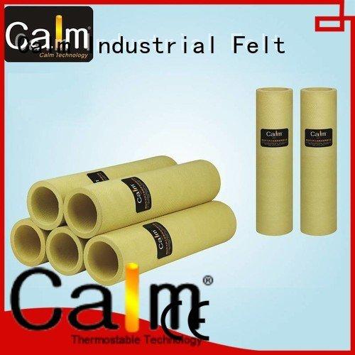 Calm Industrial Felt Brand tempresistance pe 280°c black felt roll