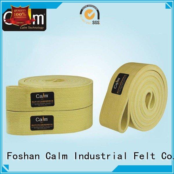 OEM industrial conveyor manufacturers middle 600°c 180°c felt belt