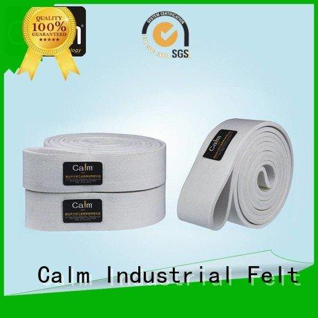 Calm Industrial Felt Brand ultrahigh temperature industrial conveyor manufacturers ring belt