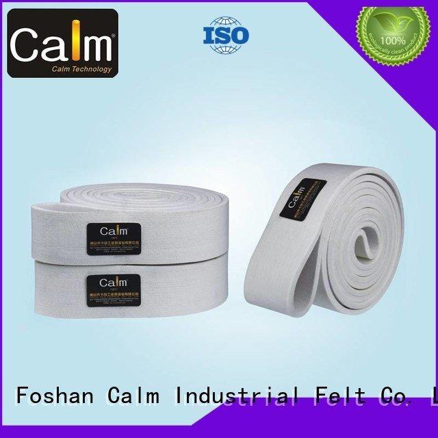 industrial conveyor manufacturers ring felt belt temperature Calm Industrial Felt