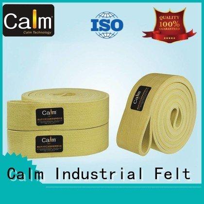 OEM industrial conveyor manufacturers ultrahigh felt 600°c felt belt