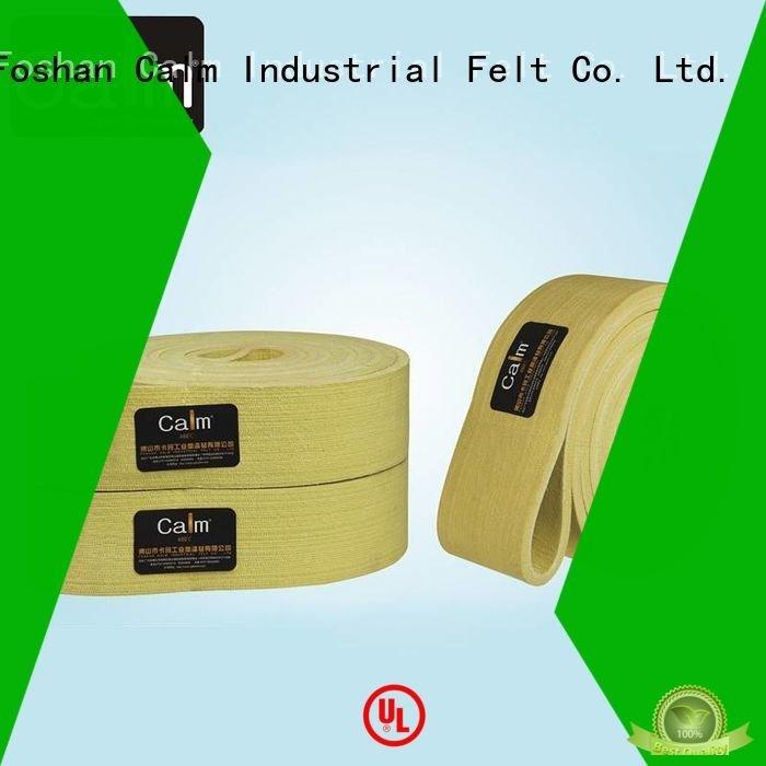 Calm Industrial Felt conveyor tempseamless felt belt ultrahigh 480°c
