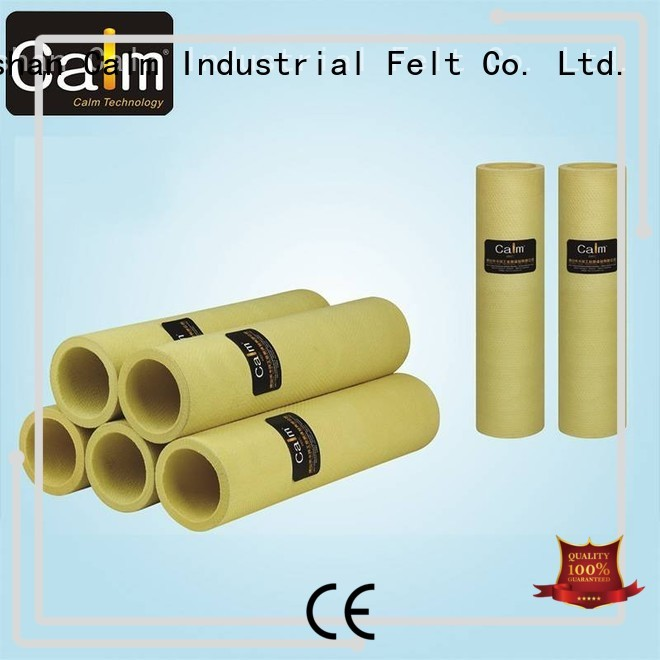 felt high 280°c Calm Industrial Felt Brand felt roll supplier