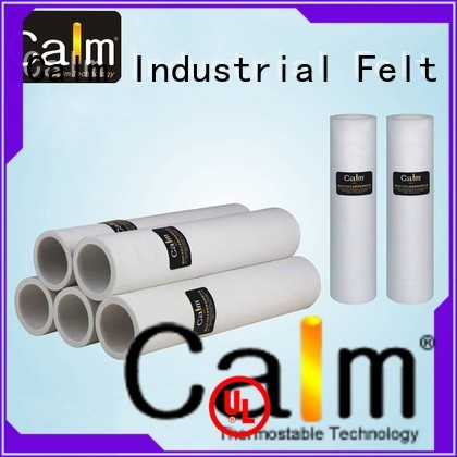 Wholesale 180°c 280°c felt roll Calm Industrial Felt Brand