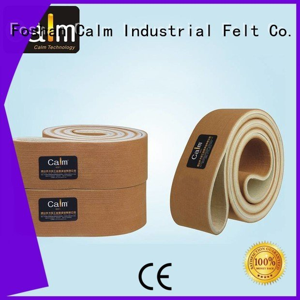480°c low tempseamless Calm Industrial Felt industrial conveyor manufacturers