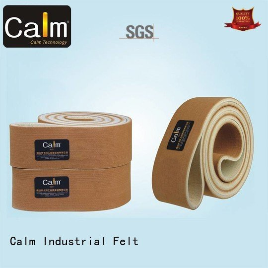 Wholesale seamless ring felt belt Calm Industrial Felt Brand