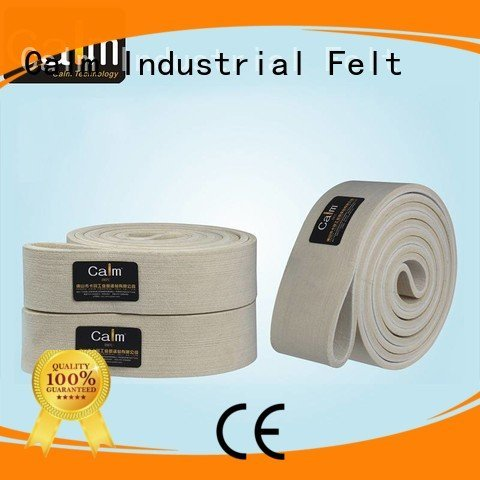 Custom felt belt 280°c low middle Calm Industrial Felt