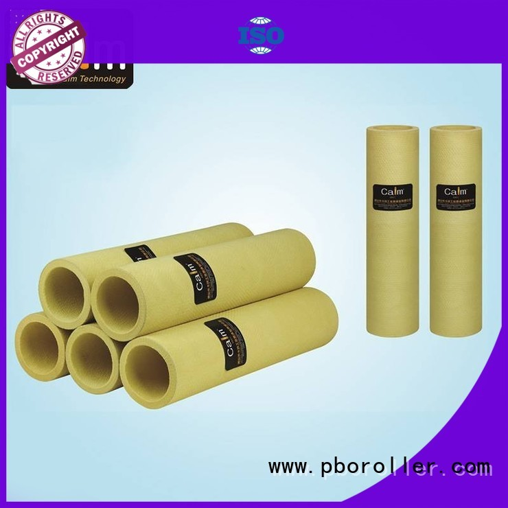 black felt roll pbo 180°c high Calm Industrial Felt Brand felt roll