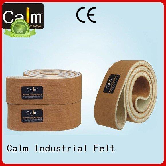 industrial conveyor manufacturers low 280°c Calm Industrial Felt Brand