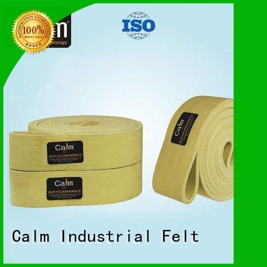 Calm Industrial Felt Brand ultrahigh middle tempseamless felt belt 480°c
