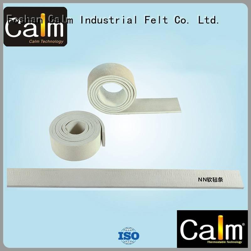 Quality thin felt strips Calm Industrial Felt Brand nomex felt strips