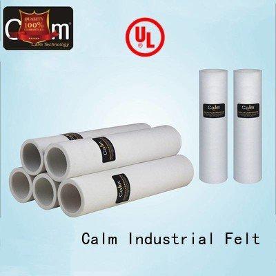 Calm Industrial Felt felt roll pe felt tempresistance 280°c