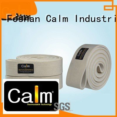 industrial conveyor manufacturers 480°c Calm Industrial Felt Brand felt belt