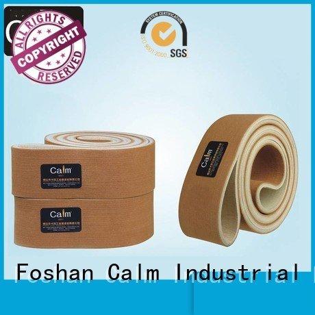 Hot industrial conveyor manufacturers tempseamless felt belt seamless Calm Industrial Felt