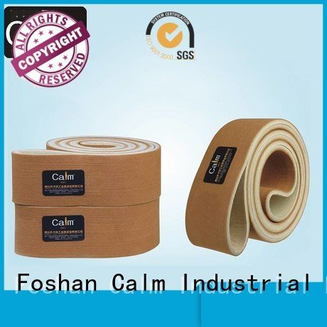Hot industrial conveyor manufacturers tempseamless felt belt seamless Calm Industrial Felt