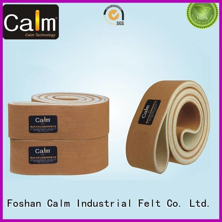Calm Industrial Felt Brand conveyor industrial conveyor manufacturers belt seamless