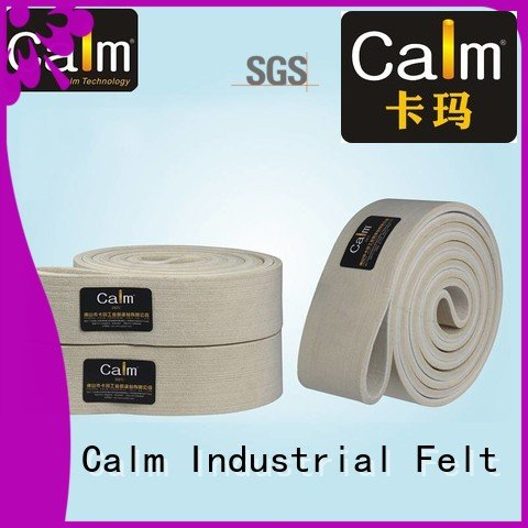 Calm Industrial Felt felt belt seamless conveyor 180°c tempseamless