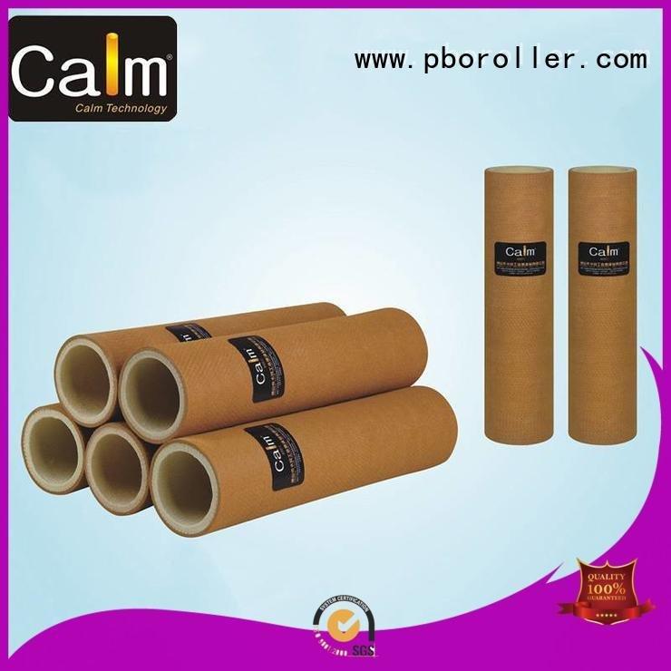 black felt roll tempresistance roller 280°c middletemp Calm Industrial Felt