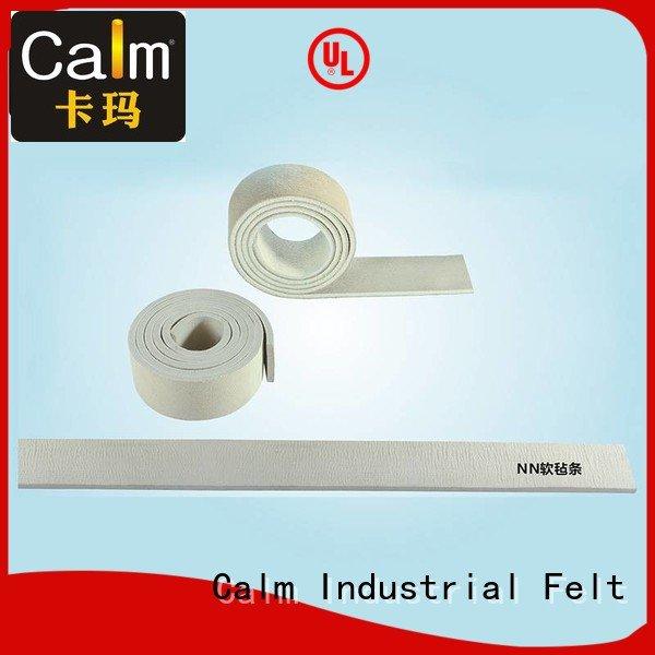Hot thin felt strips iron felt strips packing Calm Industrial Felt
