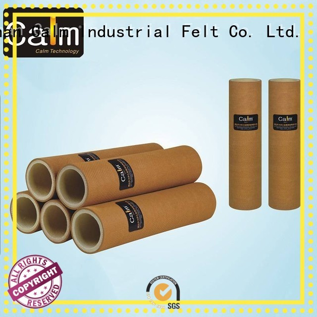 black felt roll 280°c 480°c Calm Industrial Felt Brand