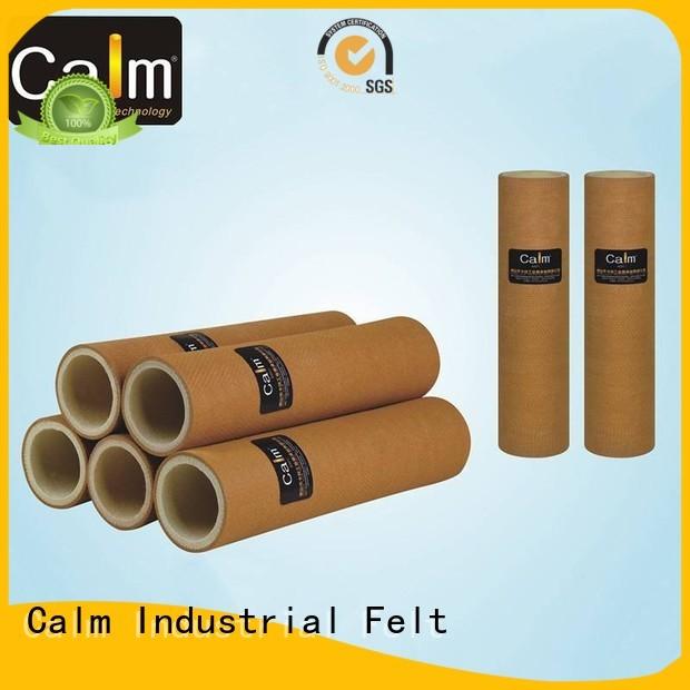 Custom pbokevlar600°c felt roll 180°c Calm Industrial Felt