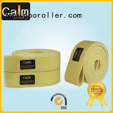 industrial conveyor manufacturers 180°c felt belt Calm Industrial Felt