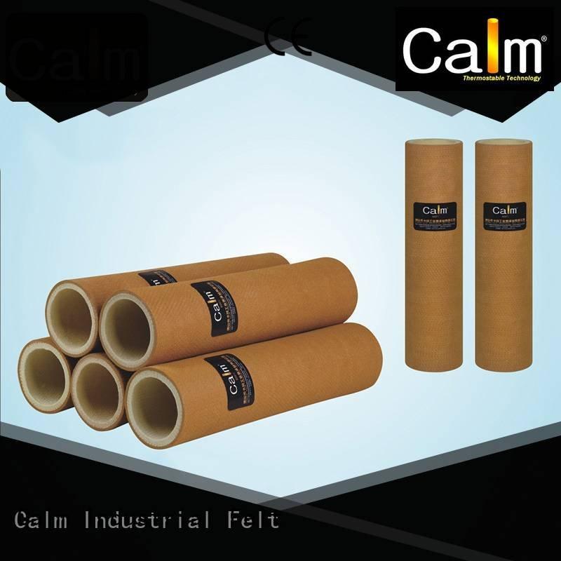 Calm Industrial Felt Brand 480°c felt high felt roll