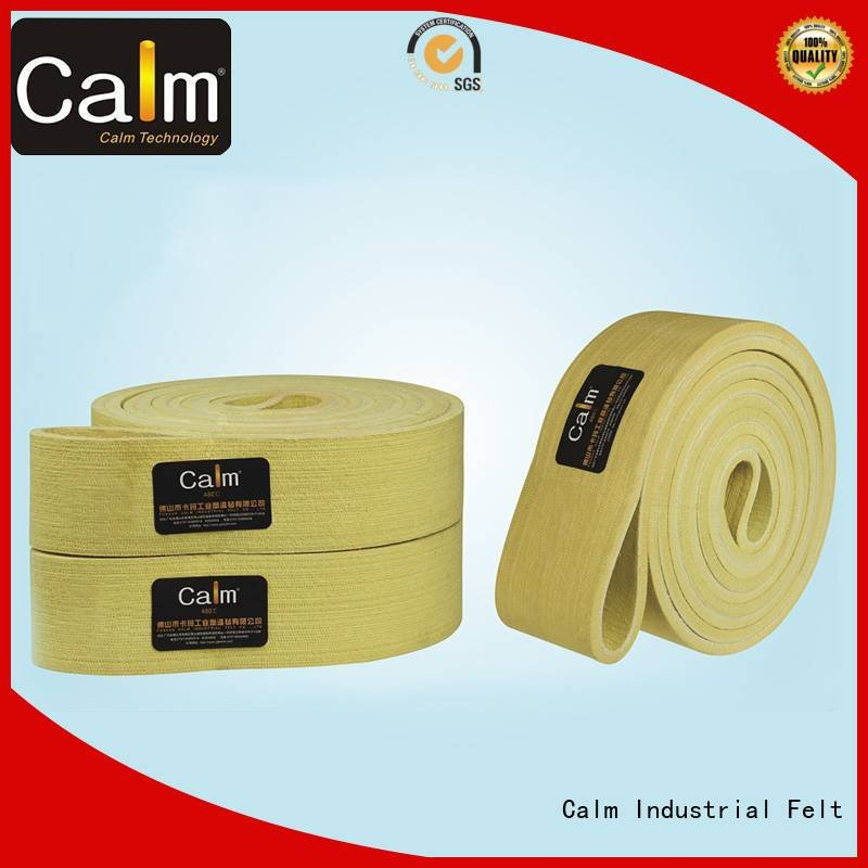 Calm Industrial Felt industrial conveyor manufacturers conveyor ring temperature