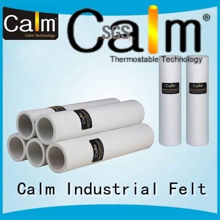Calm Industrial Felt Brand pe 180°c 280°c custom black felt roll